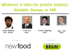 Whatever it takes for protein analysis:  Kjeldahl, Dumas, or NIR