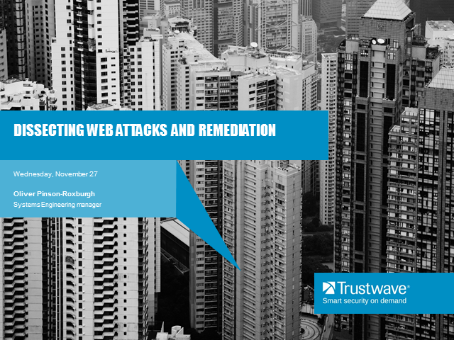 Dissecting web attacks and remediation