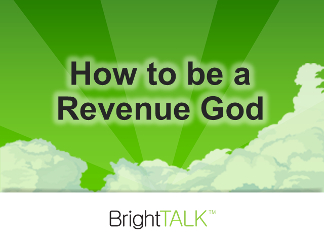 How to Be a Revenue God