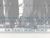 Managing Communication for the World of BYOD