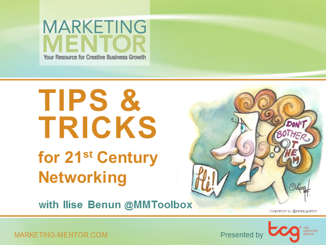 Tips and Tricks for 21st Century Professional Networking