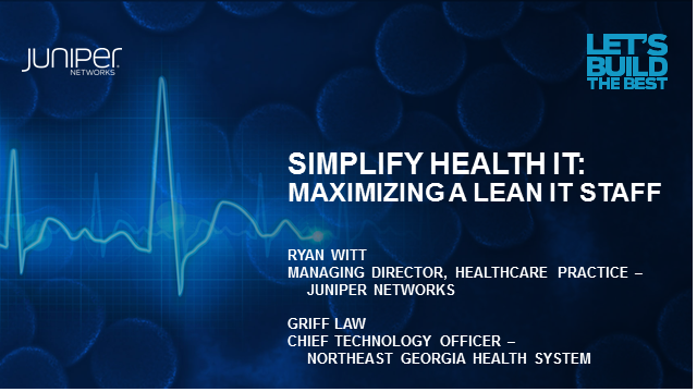 Simplify Health IT: Maximizing a Lean IT Staff