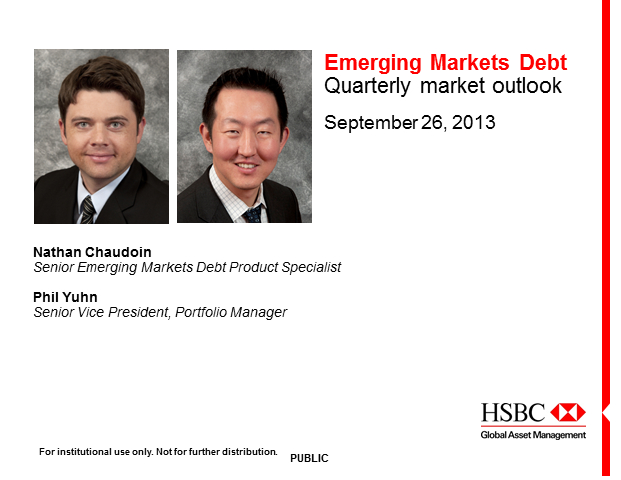 Emerging Markets Debt Quarterly Update