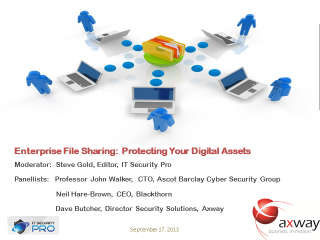 Enterprise File Sharing:  Protecting Your Digital Assets