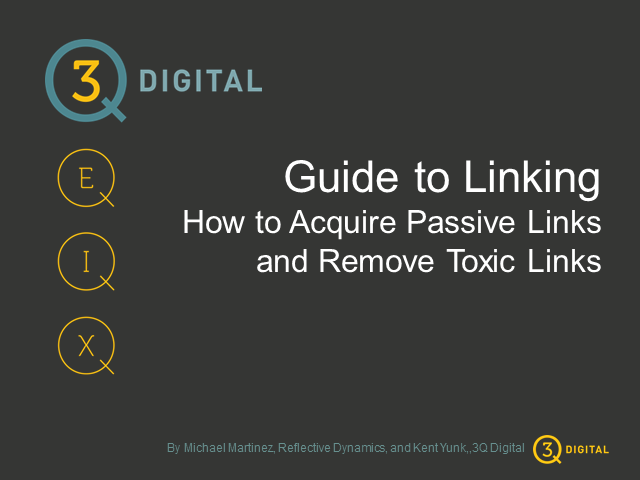 Guide to Linking: Acquire Passive Links and Remove Toxic Links
