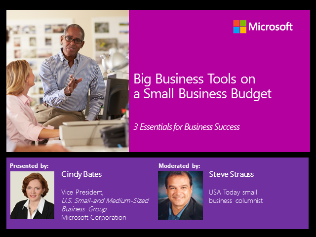 Big Business Tools on a Small Business Budget: 3 Essentials for Business Success