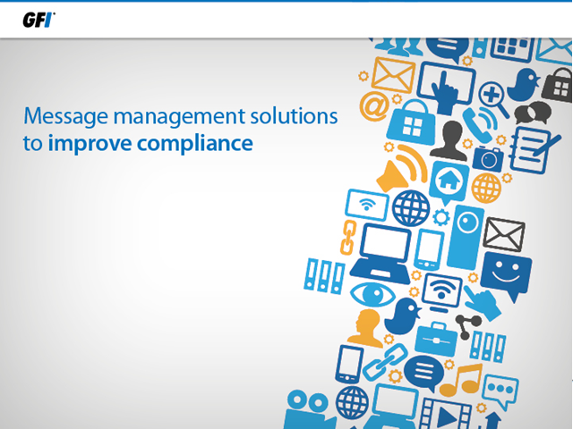 Message management solutions to improve compliance