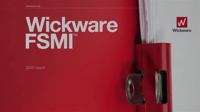 2013 WICKWARE FINANCIAL SERVICES MARKETING INDEX SURVEY RESULTS