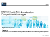 DB2 Tech Talk:  BLU Acceleration Competitive Advantages for In-memory Computing