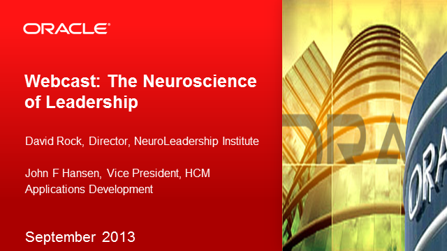 HCM: The Neuroscience of Leadership