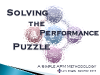 Solving the Performance Puzzle: A Simple APM Methodology