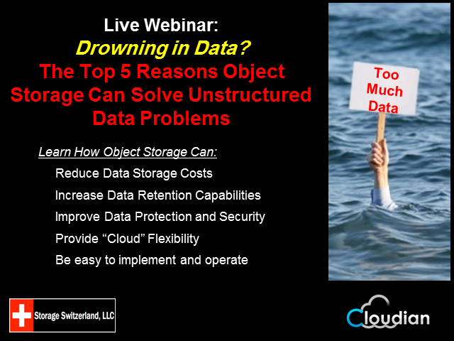 Top 5 Reasons Object Storage Can Solve Unstructured Data