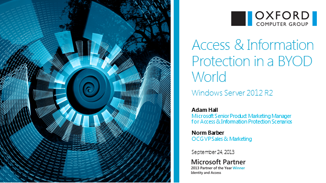 Access & Information Protection in a BYOD World