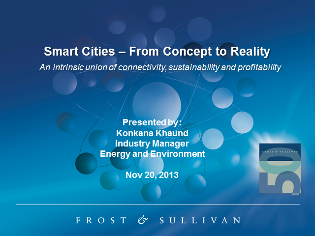 Smart Cities - From Concept to Reality