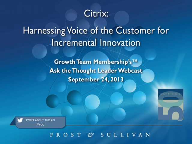 Harnessing Voice of the Customer for Incremental Innovation