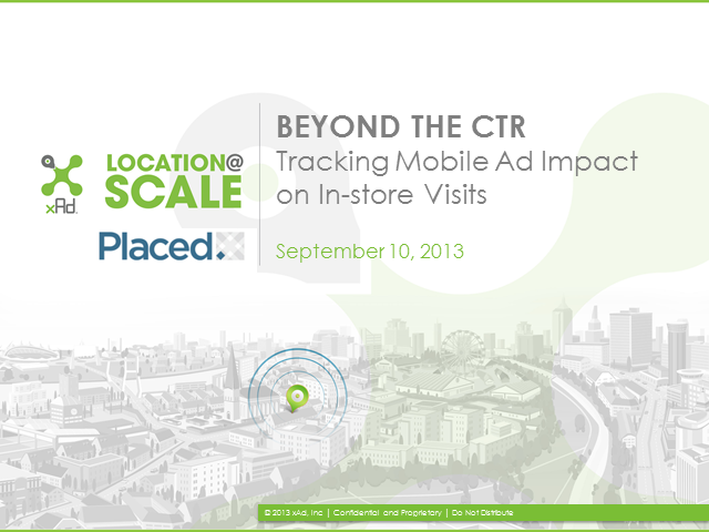 Beyond CTR: Tracking Mobile Ad Impact on Store Visits