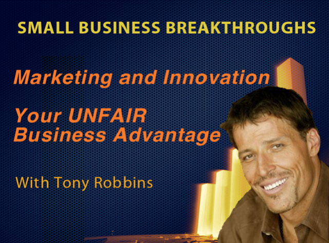 The Power of Marketing & Innovation – Your Unfair Business Advantage
