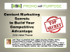 Content Marketing Secrets to Build Your Competitive Advantage