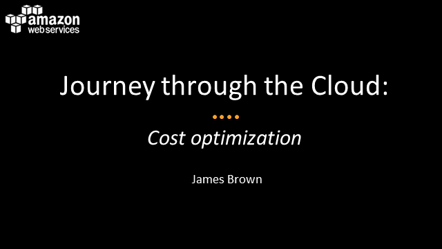 Journey Through the AWS Cloud: Cost Optimisation