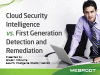 Cloud Security Intelligence vs. First Generation Detection and Remediation