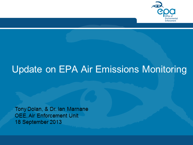 Air Emissions Monitoring and Management