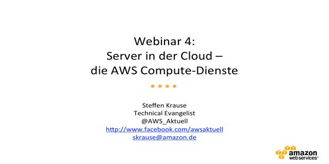 Server in der Cloud – EC2