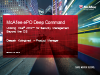Hardware enhanced security management with ePO DeepCommand