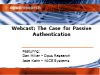 The Business Case for Passive, Voice Based Authentication
