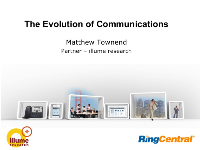 The Evolution of Communications