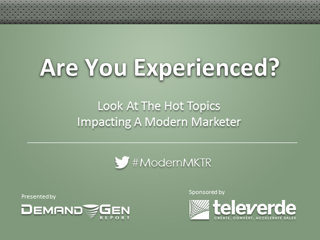 Are You Experienced? Insights On Hot Topics At EE13
