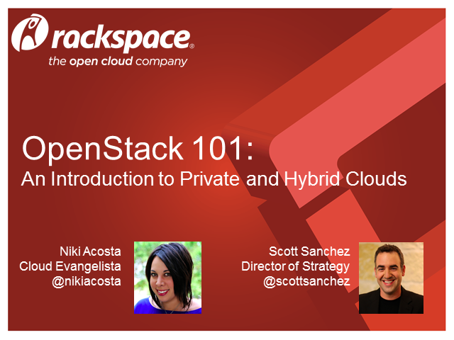 OpenStack 101: An Introduction to Private and Hybrid Clouds
