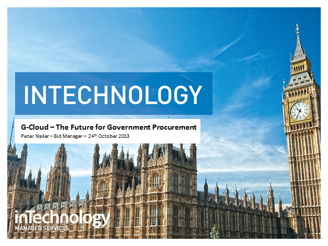 G-Cloud - The future for Government procurement
