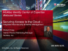 McAfee Identity Center of Expertise - Securing Access to the Cloud