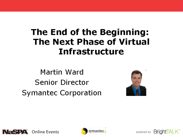 End of the Beginning: The Next Phase of Virtual Infrastructure