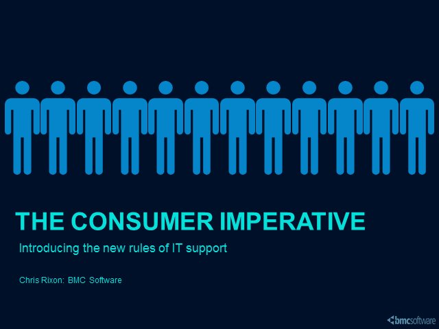 The Consumer Imperative: Introducing the New Rules of IT support