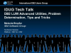 IDUG Tech Talk: DB2 LUW Advanced Utilities Problem Determination Tips and Tricks