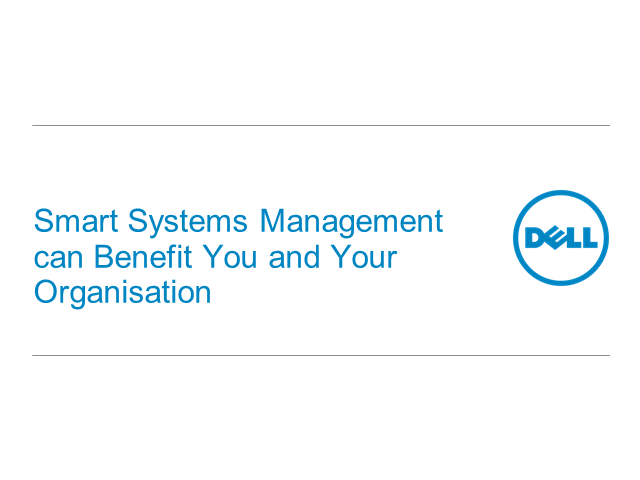The impact of Smart Systems Management in ITSM