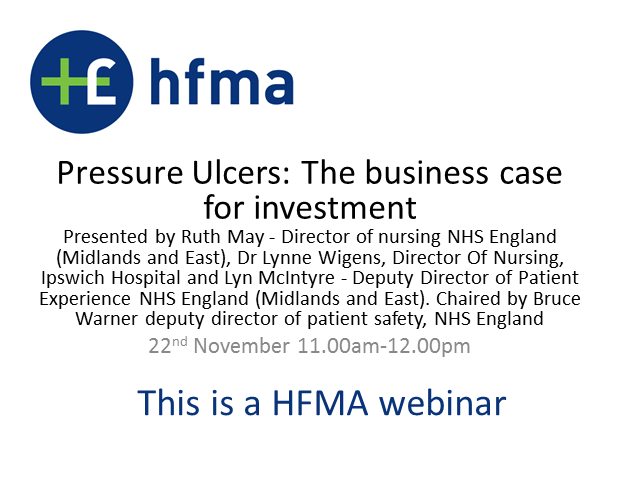 Pressure Ulcers: The business case for investment