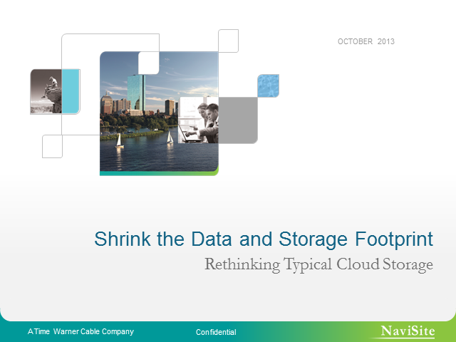 Shrink the Data and Storage Footprint: Rethinking Typical Cloud Storage