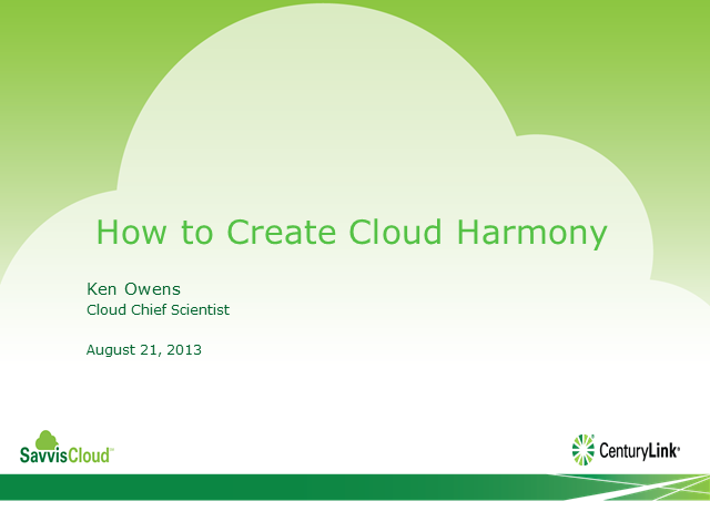 How to Create Cloud Harmony