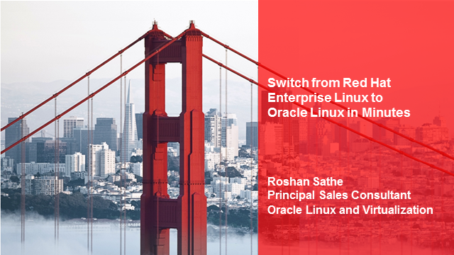 Linux: Switch From Red Hat Enterprise Linux to Oracle Linux in Minutes