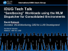 "IDUG Tech Talk: ""Sandboxing"" Workloads using the WLM Dispatcher for Consolidated"