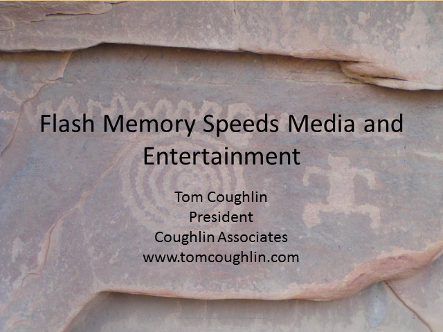 Flash Memory Speeds Media and Entertainment