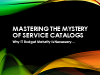Mastering the Mystery – Service Catalogs, Why IT Budget Maturity is Necessary