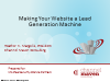 Making Your Website a Lead Generation Machine