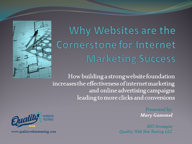 Why Websites are the Cornerstone for Internet Marketing Success