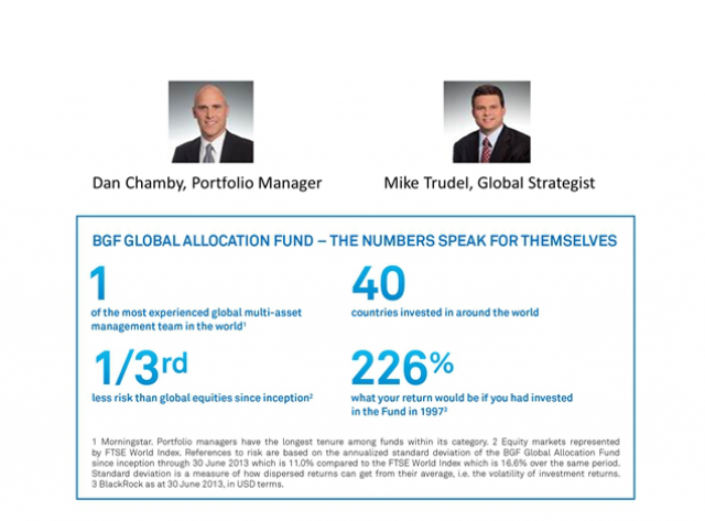 BGF Global Allocation - It's all in the numbers