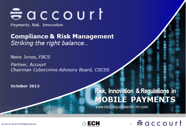 Compliance & Risk Management: Striking the Right Balance...