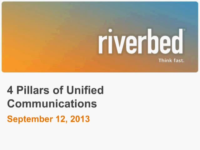 4 Pillars of Unified Communication Management