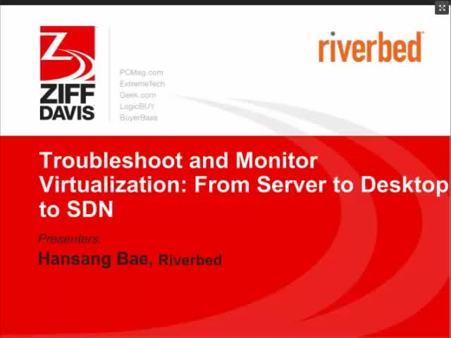 Troubleshoot and Monitor Virtualization : From Server to Desktop to SDN